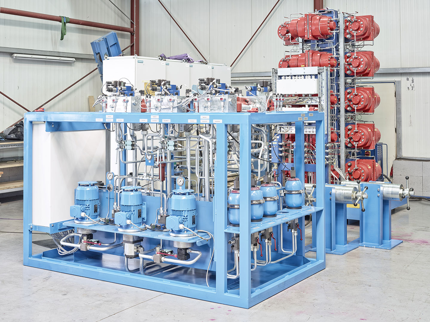 Brake Systems Units Hydraulics Olko Maschinentechnik Gmbh Power Control Unit Hydraulic Description Previous Next